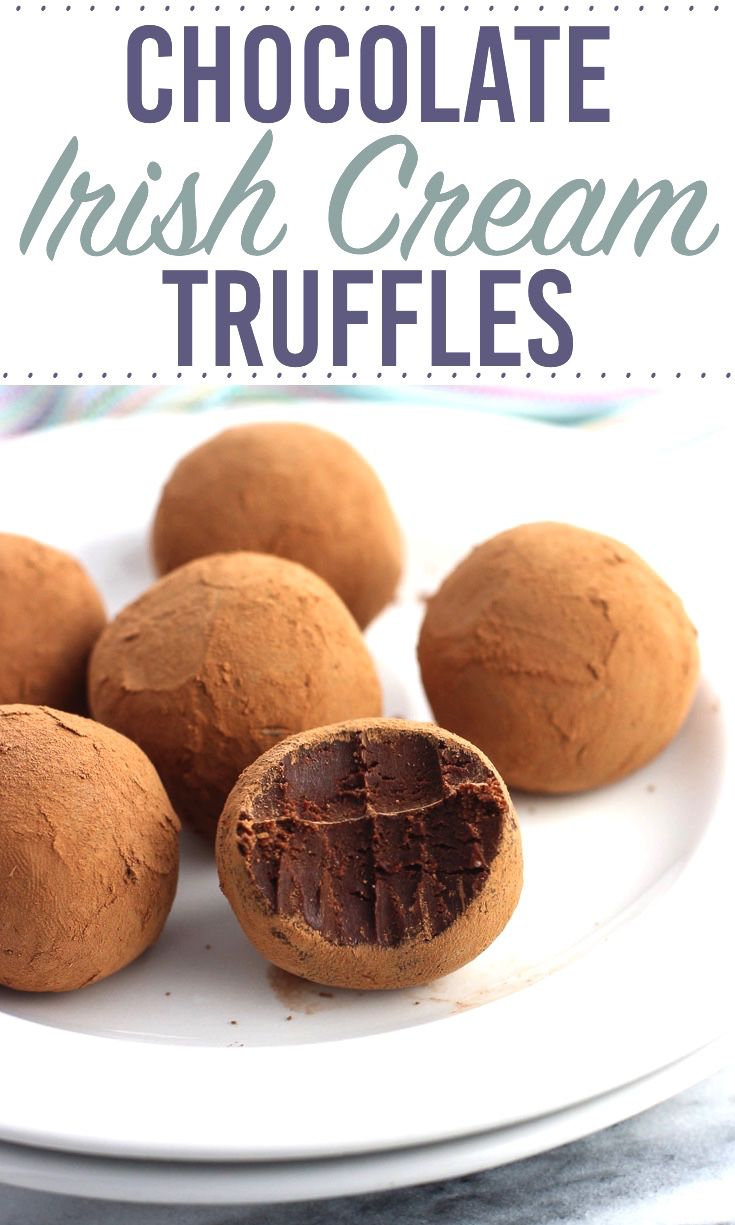 Chocolate Irish Cream Truffles are a rich and flavorful no-bake dessert that couldn't be easier! This chocolate truffle recipe yields a small-batch for indulgence in moderation. Just six truffles with noticeable Irish cream flavor! via @mysequinedlife