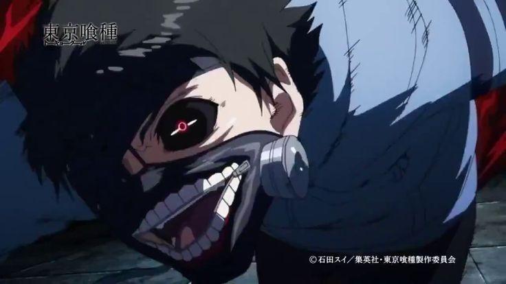 Tokyo Ghoul anime trailer 2