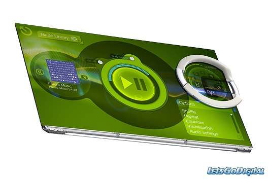 New Nokia Morph Mobile- The future smart phone