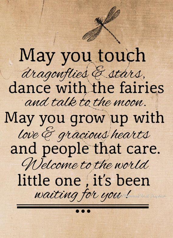 Vintage Welcome to the world / Quote / Words. This is a digital download image used for transferring to fabrics and paper.