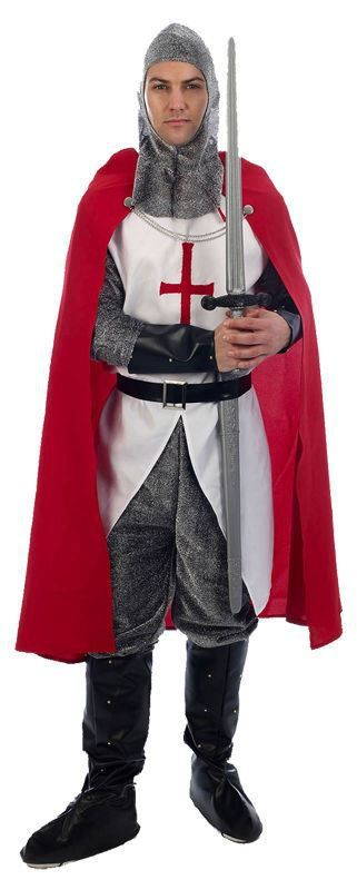 England Knight St George Day Costume English Rugby World Cup 2015 Fancy Dress - The Dragons Den Fancy Dress