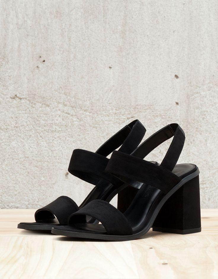 Sandales à talons élastique - Tout voir - Bershka France