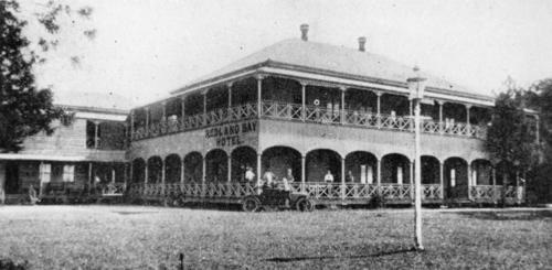 The Plantation house became the Redland Bay Hotel sometime before 1911.