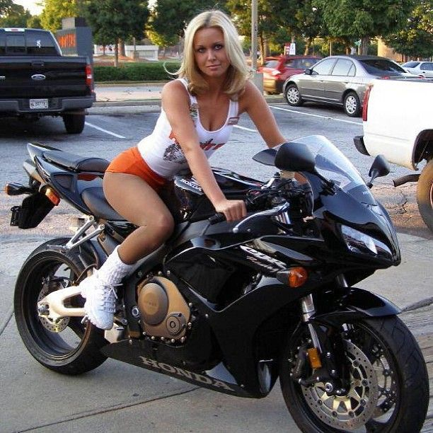 Pity, that Fat girls and sport bikes something also
