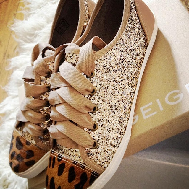 Need to copy my cousin & get these Kurt Geiger trainers.