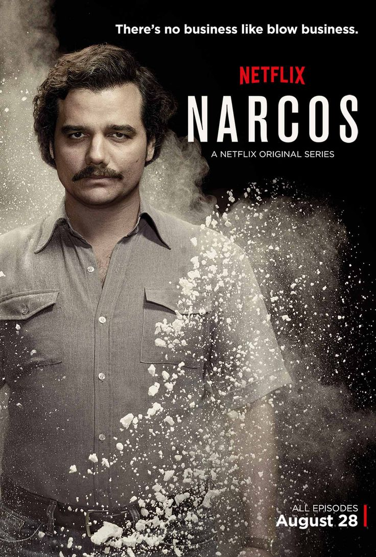 Narcos! Netflix-Binge watch me, one of the best shows I've seen in yonks.