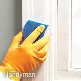 Clean Surfaces With Tsp Sponge Walls And Trim With A Tsp Solution