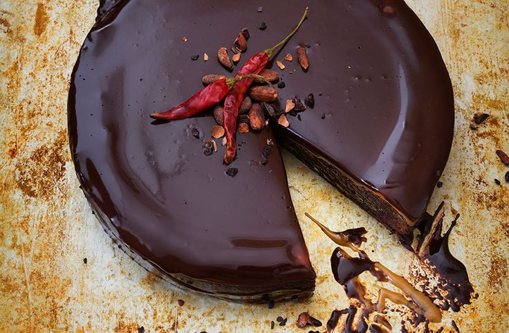 Chilichokladtårta