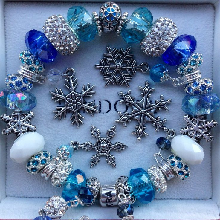 Snowflake Charm Bracelet: 17 Best Images About Charm Bracelets On Pinterest