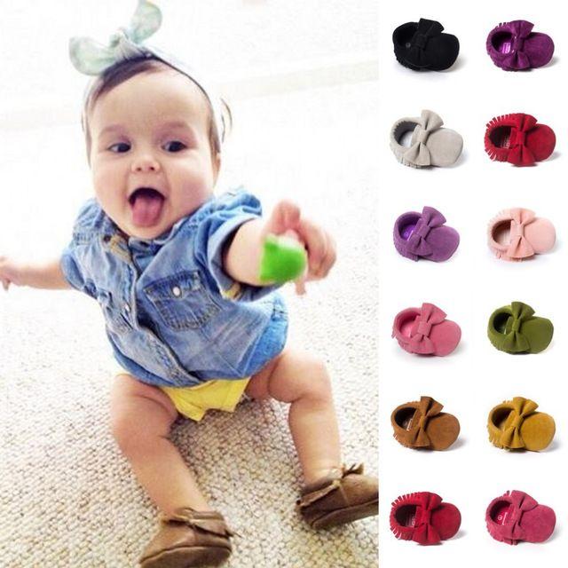 ROMIRUS Tassels Baby Girls Shoes Moccasin Infant Toddler First Walkers Newborn Footwears Indoor Kid Pram Bebe Baby Boys Shoes