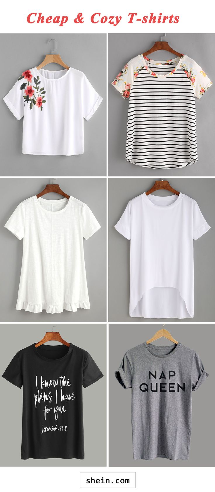 Cheap and cozy T-shirts