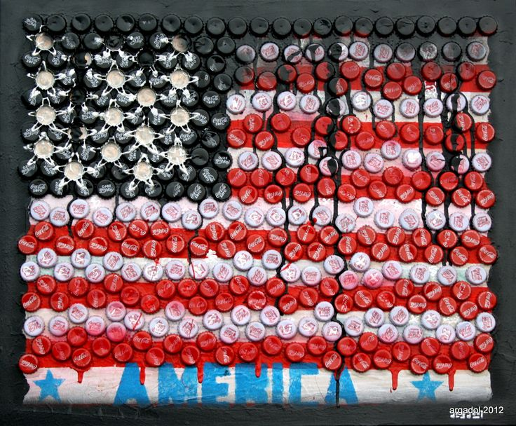 American Flag by Argadol