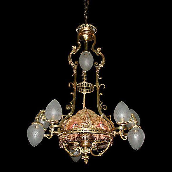 74 best Antique French Lighting I Love images on Pinterest