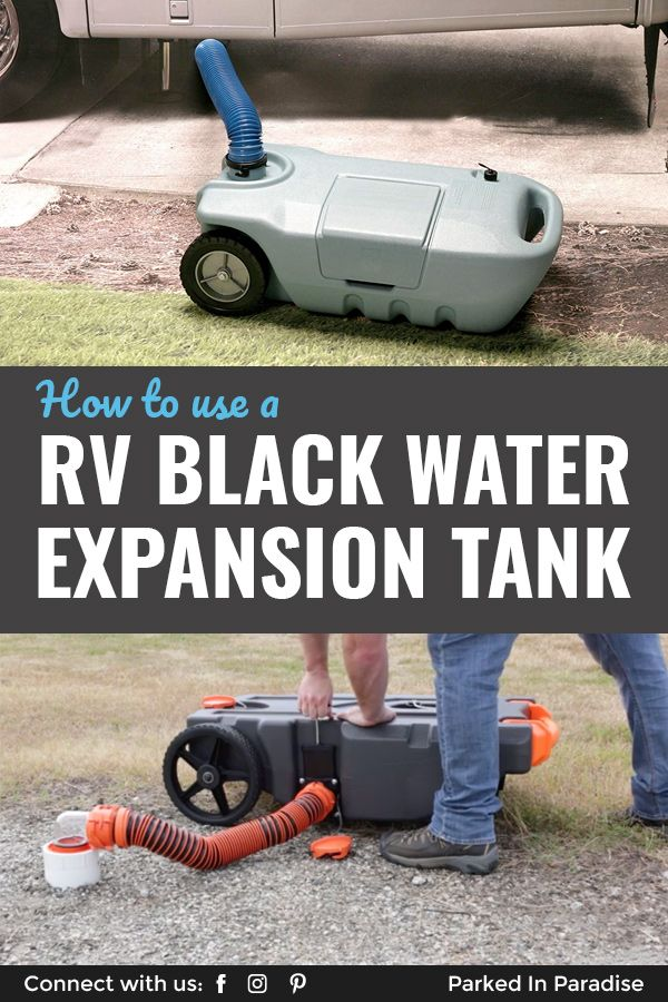 How To Expand Your Black Water Tank Capacity In An Rv In 2020 Black Water Rv Waste Tanks