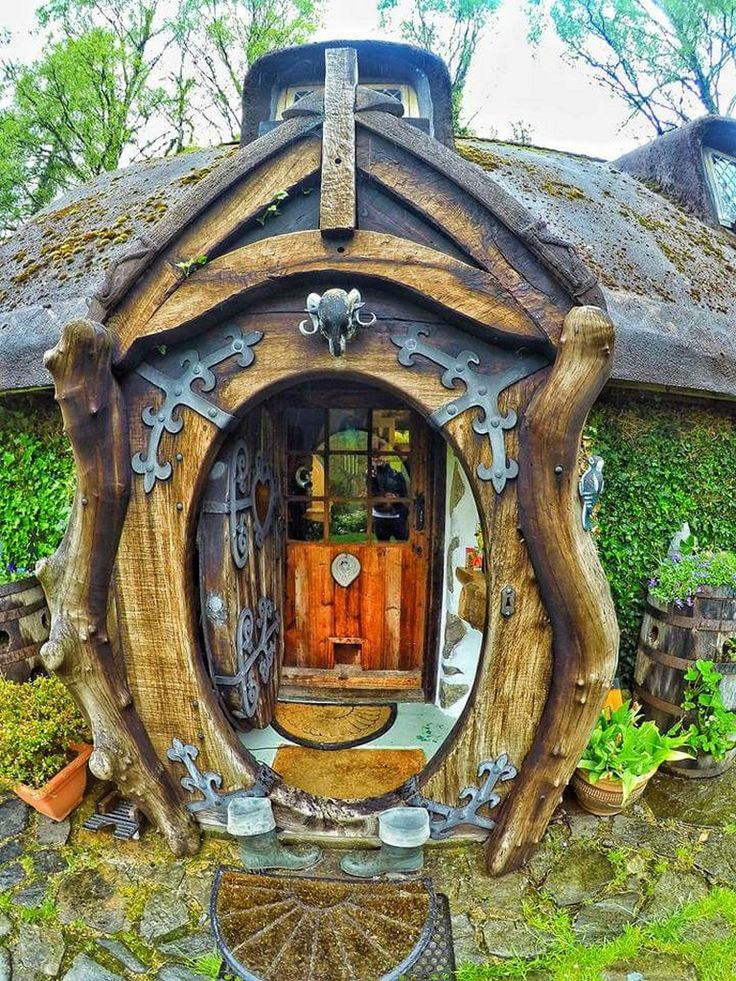 25 Amazing Real World Hobbit House In Scotland