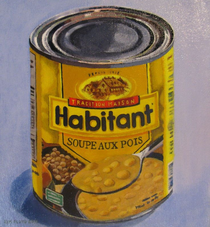 "Kim Floyd ""Pea Soup"" 10"" x 11"" Acrylic on Canvas $375 (Nova Scotia)"
