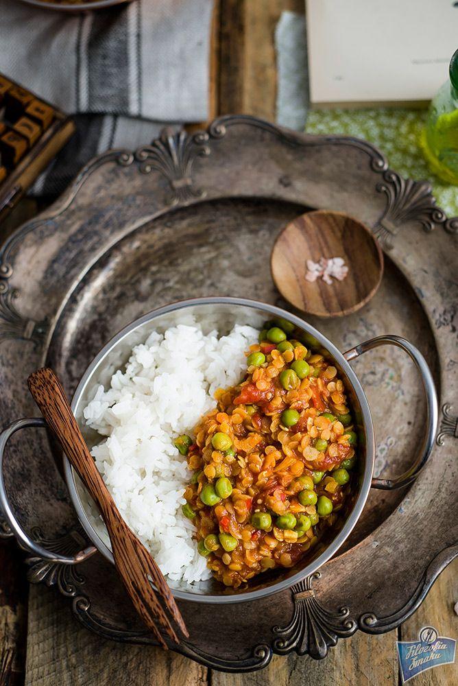 Indyjska Potrawka Z Soczewicy Cooking Recipes Cooking Foodie