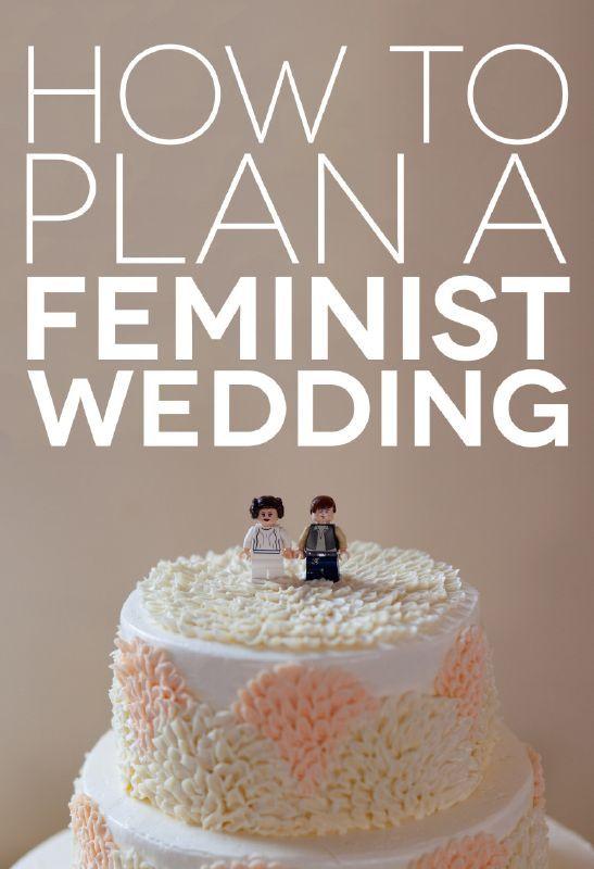 10 Subtle Ways to Make Your Wedding More Feminist