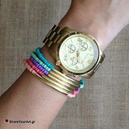 βραχιολια με χάντρες από trendy_bracelets