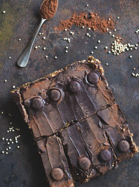 Homemade Erdnuss Riegel