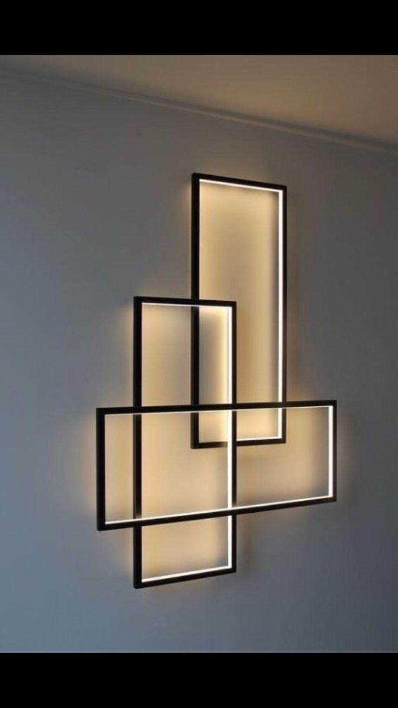 Idee: planken/open kast boven de zetel met indirecte verlichting (ledstrip) aan de achterzijde ...