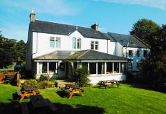Morags Lodge, Fort Augustus and other hostels along the great glen walkway