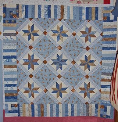 pretty and blueStars Quilt, Blue Quilt, Quilt Block, Lemoyne Stars, Beautiful Quilt, Quilt Dreams, Blue Stars, Modern Quilt, Quilt 16