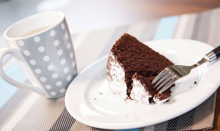 Alpro - Bolo de chocolate - Bolo de chocolate com Alpro Bebida de Chocolate