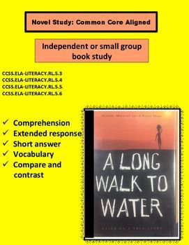 This Novel Study allows for comprehension, discussions and short answers.CCSS.ELA-LITERACY.RL.5.3Compare and contrast two or more characters, settings, or events in a story or drama, drawing on specific details in the text (e.g., how characters interact).Craft and Structure:CCSS.ELA-LITERACY.RL.5.4Determine the meaning of words and phrases as they are used in a text, including figurative language such as metaphors and similes.CCSS.ELA-LITERACY.RL.5.5Explain how a series of chapters, scenes…