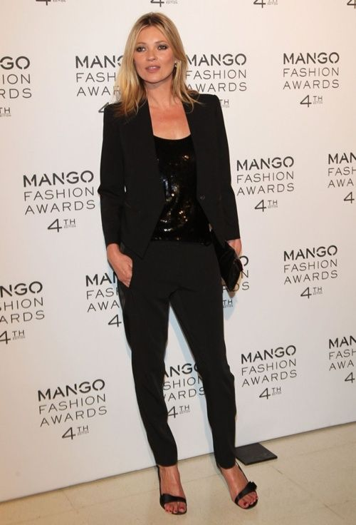 Kate Moss at the Mango Fashion Awards 2012 in Barcelona Taken from: http:/
