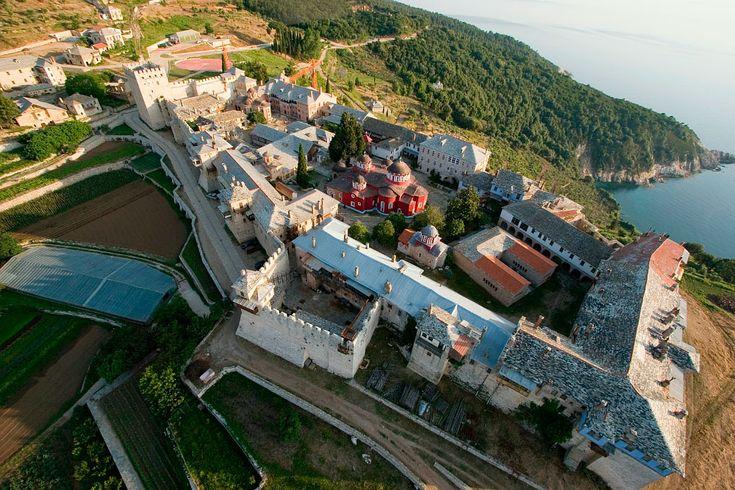 Ιερά Μονή Μεγίστης Λαύρας...Great Lavra Monastery
