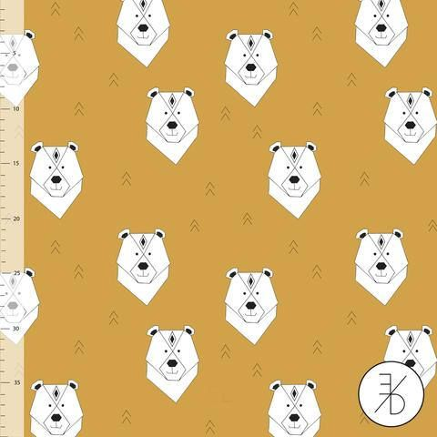 NEW !!! NEW!!! NEW!!! This fabric is sold by the 1/2 yard. For 1 yard please kindly select a quantity of 2. Your order will be cut continuously. All orders up to 2 yards are shipped via USPS First Class Mail. All orders 3 yards and above are shipped via USPS Priority Mail.  POLAR BEAR AQUA - COLLEGE by ELVELYCKAN DESIGN  Stretch Sweatshirt Fabric    Stretch sweatshirt fleece fabric is a beautiful combination of carefully selected fabric weights and the finest materials. Stretch sweatshir...