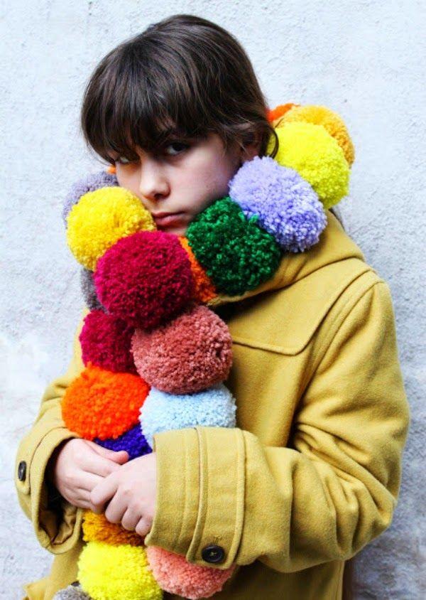 10 artesanatos com pompons - Gosto Disto!
