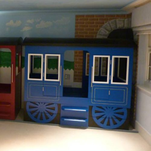 Train Themed Bedroom: 25+ Best Ideas About Train Bed On Pinterest