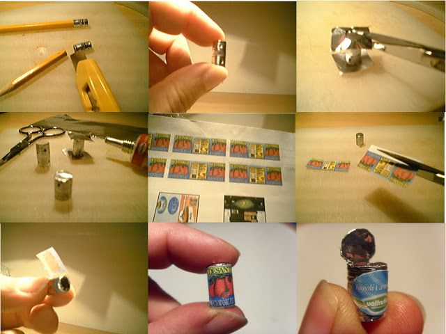 Mini coisas para posteridade: Tutorial miniatura de lata