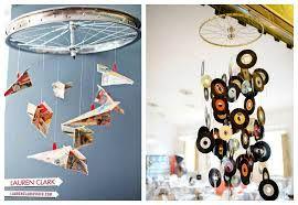 decoracion con ruedas de bicicletas - Buscar con Google