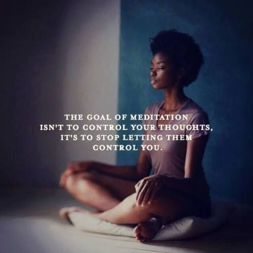 Meditation might not be what you think it is...why not try to just sit with your thoughts for awhile and realize how your mind works. Then you could start to realize that you do have a choice of what thoughts need attention and which ones can fade away...