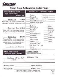 Image result for cake order form