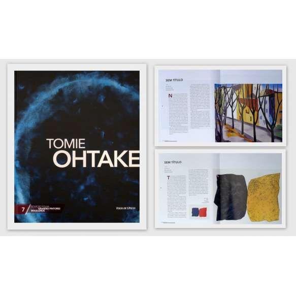 TOMIE OHTAKE - Livro ricamente ilutrado. Foram quase seis décadas em que Tomie Ohtake se estabeleceu como uma das principais representantes do abstracionismo Informal. jp<br /> 670g; 29x24 cm; 96 págs.; capa dura