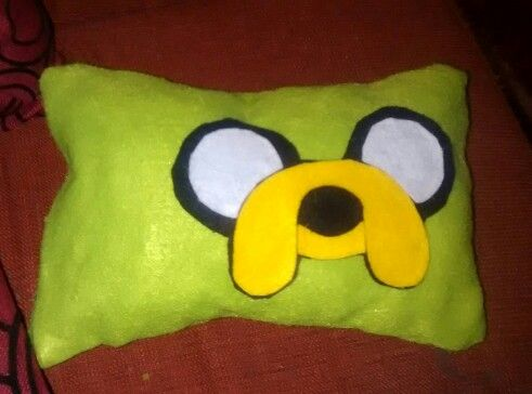 Almohada con pañolenci