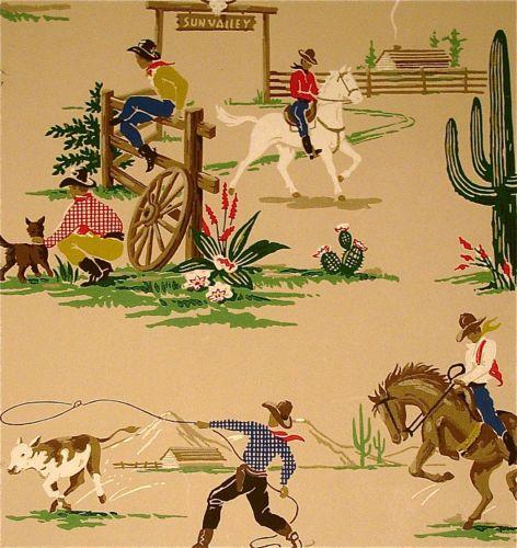vintage western crafts