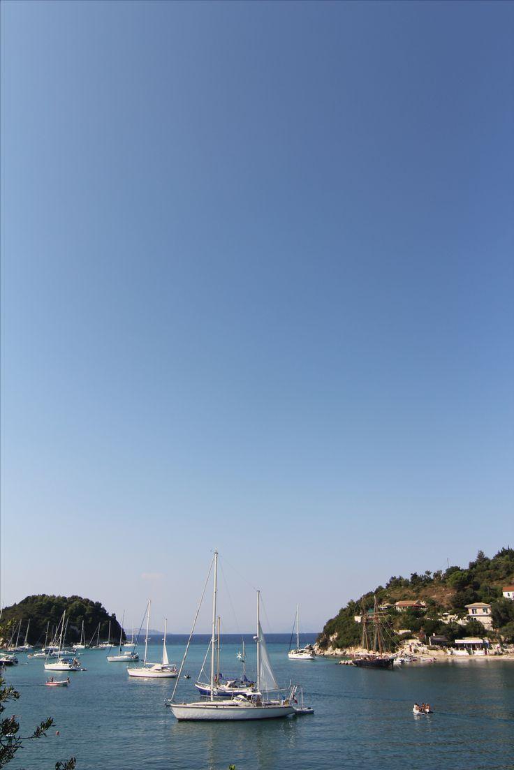 plage port  Grèce  mer croisère