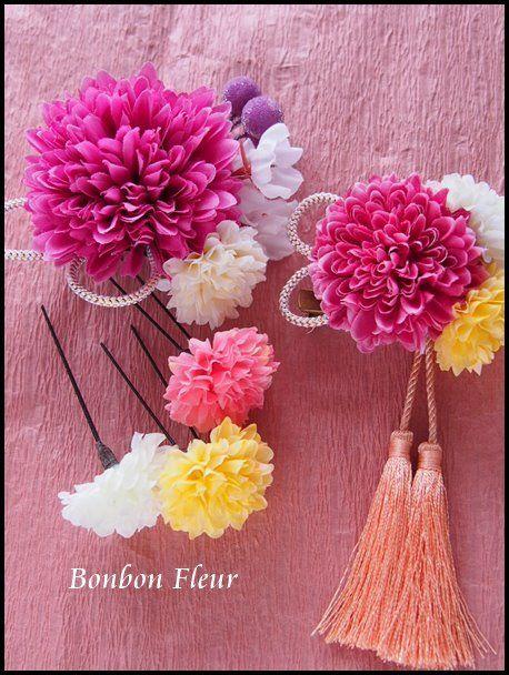 Bonbon Fleur ~ Jours heureux  コサージュ&和装髪飾りの画像