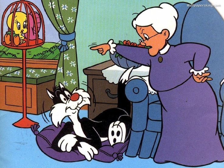 Sylvester and Granny: