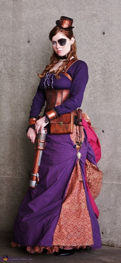 Steampunk Assassin Costume