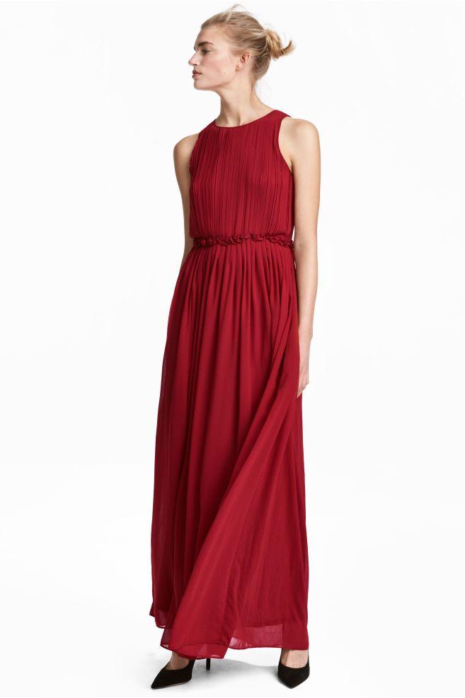 9c725390d5f5d Uzun Şifon Elbise in 2019 | šití - šaty (10) | Chiffon dress long ...