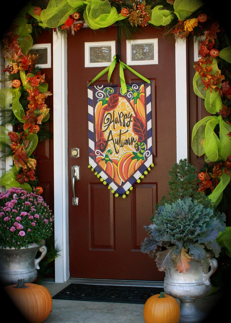 Fall Porch~by Lisa Frost