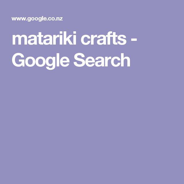 matariki crafts - Google Search