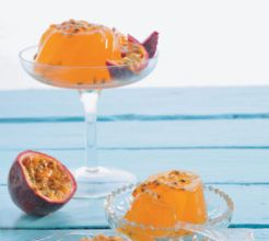 Rooibos and Granadilla Jelly #Dessert #Recipe #SouthAfrica