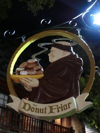 Donut Friar, Gatlinburg, TN.....THE BEST ECLAIRS!  Chewy, lite, and the filling is wonderful.